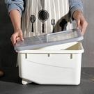 米桶 家用儲米桶裝米箱廚房用品塑料防蟲防潮米缸面粉收納盒10kg儲面箱【快速出貨八折搶購】