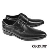 【CR CERINI】點狀雕花德比紳士鞋(80301-BL)