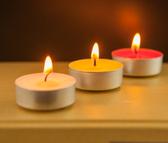 圣光酥油燈4小時100粒供燈純酥油蠟燭燈茶蠟香薰蠟燭【全館免運】