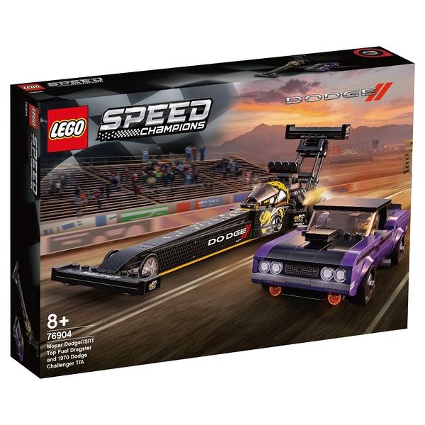 LEGO樂高 76904 Mopar Dodge//SRT Top Fuel Dragster and 1970 Dodge Challenger T/A