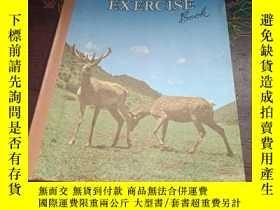 二手書博民逛書店老筆記本:EXERCISE罕見BOOK (58張)Y333530