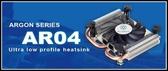 [地瓜球@] 銀欣 SilverStone AR04 超薄 小型 CPU 散熱器~專為ITX平台量身打造