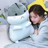 倉鼠毛絨玩具抱枕公仔布娃娃玩偶女睡覺床上超萌布偶 育心館