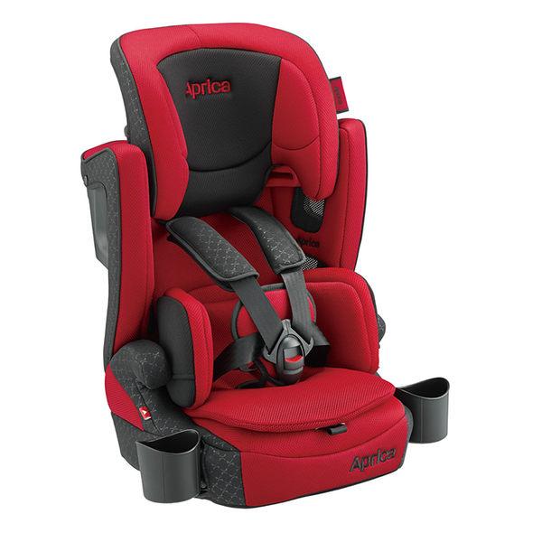 Aprica愛普力卡 - Air Groove Plus 限定版 成長型輔助汽車安全座椅(汽座) -紅色旋風