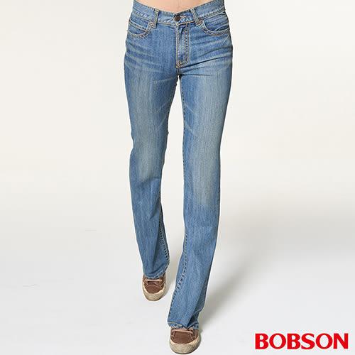 BOBSON 男款輕量低腰喇叭褲 (1702-58)