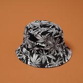 漁夫帽日系遮陽可折疊雙面夏威夷風【奇趣小屋】