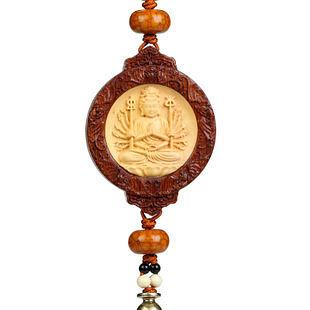 八大菩薩車掛 保平安掛飾 八大守護神轉運風水飾品