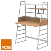 組 - 特力屋萊特 組合式書桌 烤漆白/淺木紋色