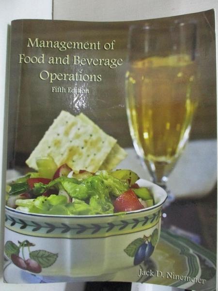 【書寶二手書T1/大學社科_JRV】Studyguide for Management of Food and Beverage…