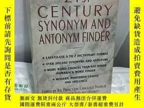二手書博民逛書店21ST罕見CENTURY SYNONYM AND ANTONY