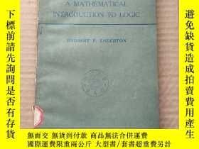 二手書博民逛書店A罕見mathematical introduction to logic(P547)Y173412