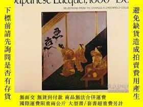 二手書博民逛書店Japanese罕見Lacquer, 1600-1900Y264