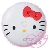 ♥小花花日本精品♥ Hello Kitty經典大臉造型圓形自動掃地拖地機器人可拆洗拖把布 04001300