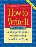 二手書博民逛書店《How to Write It: A Complete Gui