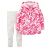 Carter's 套裝 包屁衣  日本和風粉紅上衣2件套裝組(刷毛款)  24M (Final sale)