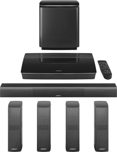 """BOSE 美國品牌 LifeStyle LS650 5.1 聲道å¶åºåŠ‡é¢çµ"""" Wi-Fi藍ç‰( 含喇叭架 ) 黑色款"""