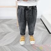 兒童百搭牛仔長褲男寶寶韓版褲子休閒長褲【聚可愛】