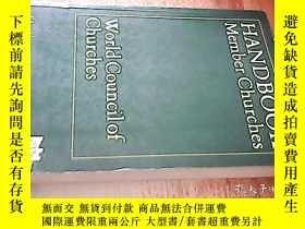 二手書博民逛書店HANDBOOK罕見MEMBER CHURCHESY238458