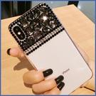 三星 A9 Note9 A8Start A6+ S9 Plus A8+ Note8 J6 J2 貴氣黑鑽殼 手機殼 水鑽殼 訂製