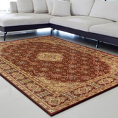 【YFS】古典羊毛地毯-新月紅200x290c