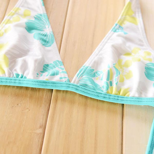 *╮小衣衫S13╭*外貿原單渡假風情葉子比基尼泳衣  1050507