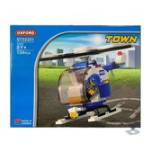 【OXFORD BLOCK】城市系列-警用直升機 OX93331