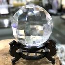 『晶鑽水晶』純天然巴西白水晶球42mm 白亮度超佳~超乾淨的! 純手工切割