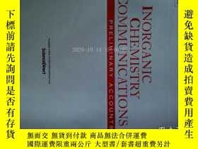 二手書博民逛書店Inorganic罕見Chemistry Communications (Journal) 12 2017 無機化