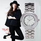 瑞士 TRUE 瑞時寶嘉  TC150151 圈圈晶鑽腕錶 /33mm