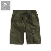 【Roush】 雙斜口袋設計工裝短褲 -【2025001】