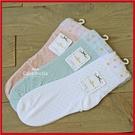 女士短絲襪 提花彩色圓點 鏤空 襪子 顏色隨機【AF02112】i-Style居家生活