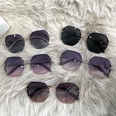 墨鏡 2021年新款ins墨鏡女偏光太陽眼鏡GM韓版潮圓臉防紫外線大臉顯瘦 非凡小鋪
