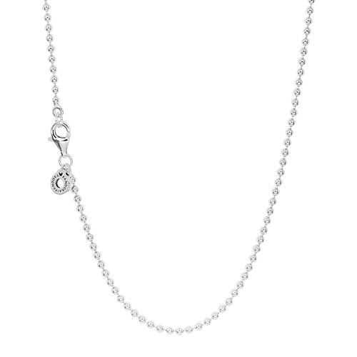 Pandora 潘朵拉 光滑圓珠 925純銀項鍊 399104C00-60