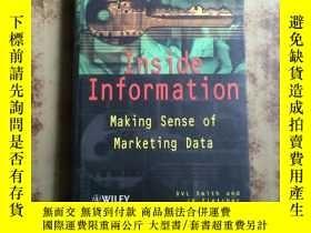 二手書博民逛書店Inside罕見Information : Making Sen