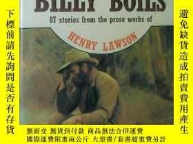 二手書博民逛書店◇英文原版書罕見澳大利亞文學名著 While The Billy