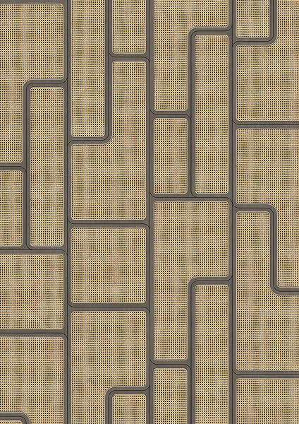編織紋 藤編織圖案 木紋壁紙 仿真 荷蘭壁紙 5色可選 NLXL CANE WEBBING / ANGLE WEBBING VOS-07