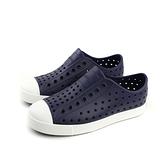 native JEFFERSON 洞洞鞋 深藍色 小童 童鞋 15100100-4201 no071