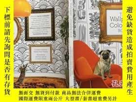 二手書博民逛書店The罕見Wallpaper Colouring Book 壁紙