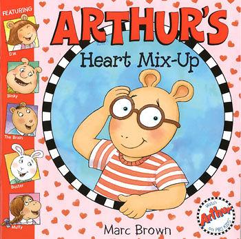 【麥克書店】ARTHUR'S HEART MIX-UP /英文故事繪本+CD