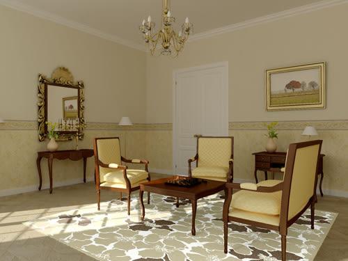 范登伯格 圓舞曲 花花世界絲質地毯-160x230cm