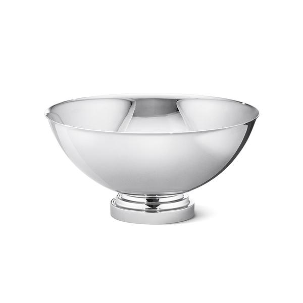 丹麥 Georg Jensen Manhattan Bowl Stainless Steel 20cm 喬治傑生 曼哈頓系列 不鏽鋼 水果碗 / 點心皿
