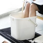 泡腳桶過小腿泡腳盆家用塑料加高足療洗腳足浴桶過膝蓋養生高深桶 ATF 夏季新品