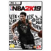 [哈GAME族]免運+刷卡●含首批數位內容●PC NBA 2K19 中英文合版 美國職業籃球 不可思議的抱團球季