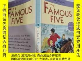 二手書博民逛書店the罕見famous five five go to mystery moor 著名的五五去神秘荒原..Y2
