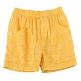 【愛的世界】春遊純棉鬆緊帶口袋五分褲/1~4歲-台灣製- ★春夏下著