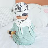 嬰兒衣服夏季 6-12個月男女寶寶夏裝新生兒連體衣0-1歲短袖爬爬服 LI2446『毛菇小象』