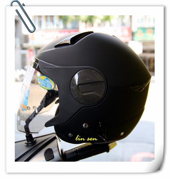 ZEUS瑞獅安全帽,ZS-612A,素色/消光黑