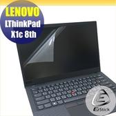 【Ezstick】Lenovo ThinkPad X1C 8TH 靜電式筆電LCD液晶螢幕貼 (可選鏡面或霧面)