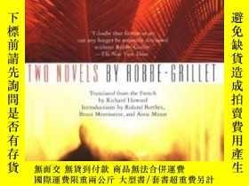 二手書博民逛書店Two罕見NovelsY255562 Alain Robbe-grillet Grove Press 出版1