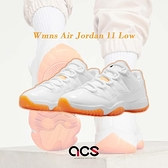 Nike 籃球鞋 Wmns Air Jordan 11 Low Bright Citrus 白 橘 女鞋 男鞋 低筒 AJ11 【ACS】 AH7860-139